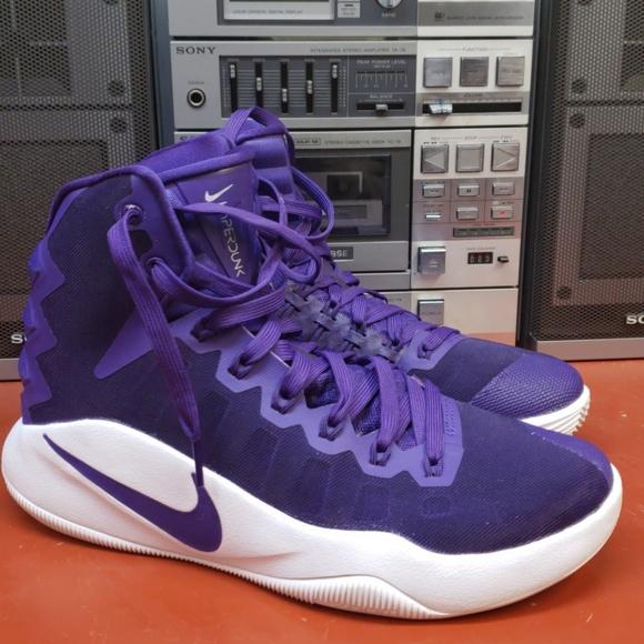 the best attitude 72f5f a09d4 8.5 Purple Nike Hyperdunk Zoom High Unisex